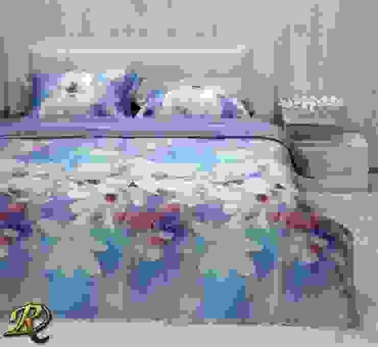 Blue Magnolia Organic Tencel (100% wood pulp): modern  by Roxyma Dream UK, Modern