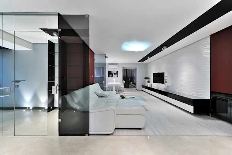 Квартира для отдыха Гостиная в стиле модерн от Александр Бабаджанян Модерн