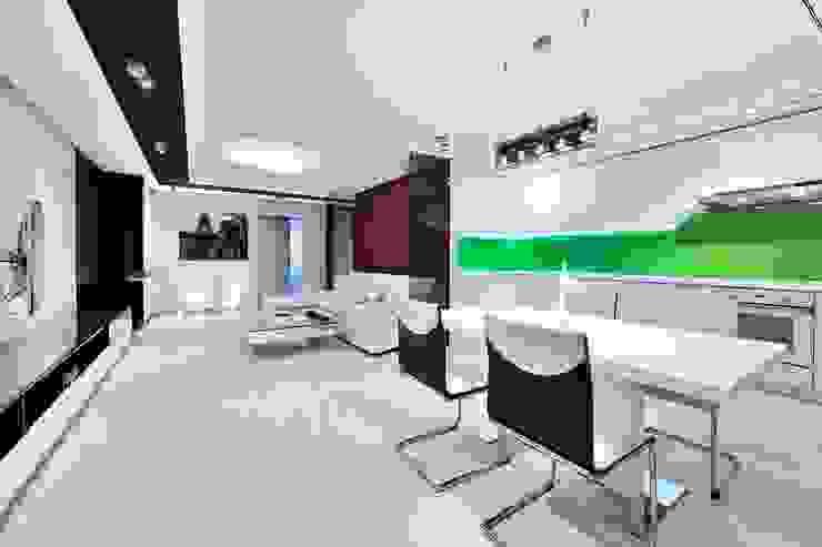 Квартира для отдыха Кухня в стиле модерн от Александр Бабаджанян Модерн