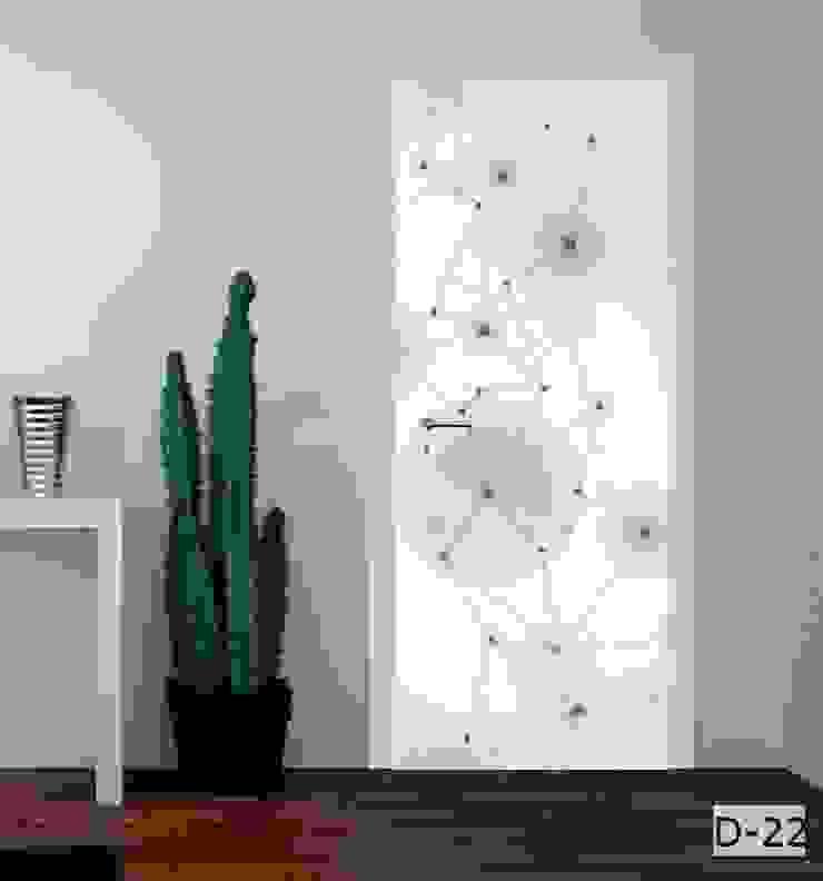 druk na drzwiach od Inoutprint Nowoczesny