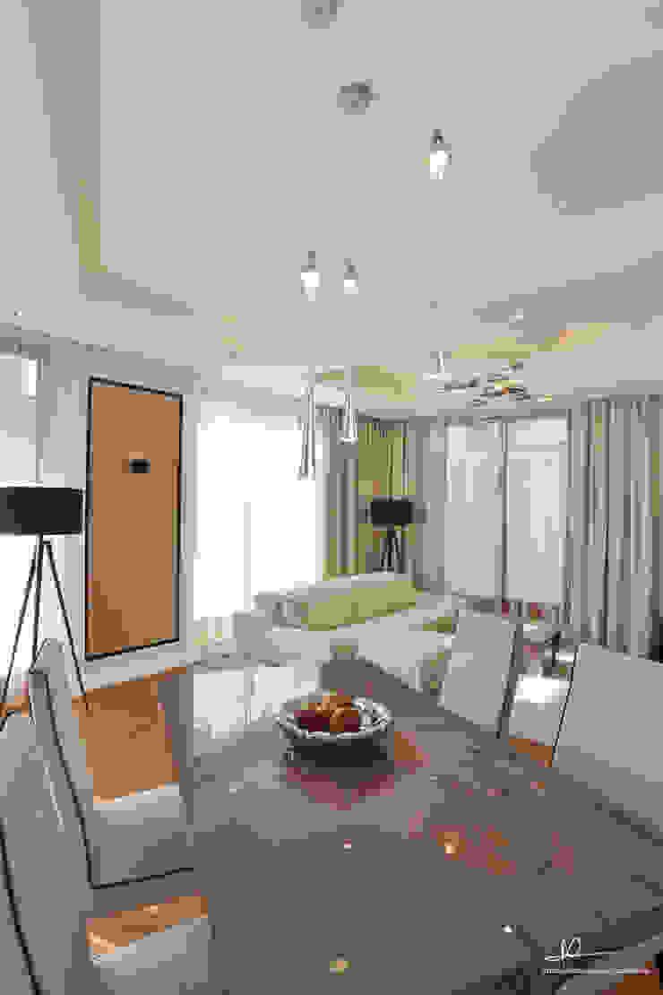Moderne woonkamers van Studio Modelowania Przestrzeni Modern