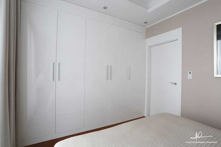 Moderne slaapkamers van Studio Modelowania Przestrzeni Modern