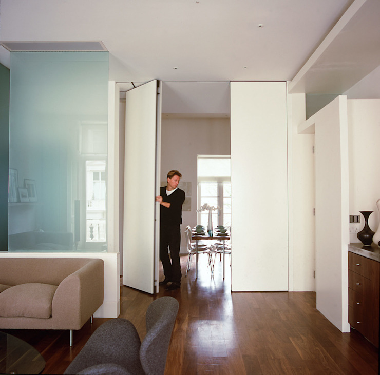 Maida Vale Apartment - 2 Modern Living Room by Jonathan Clark Architects Modern