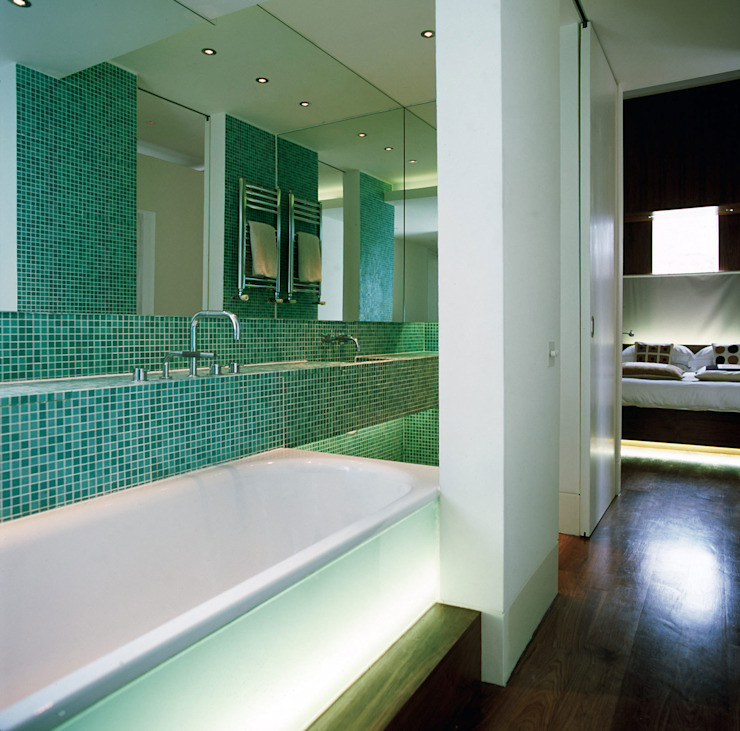 Maida Vale Apartment - 4 Modern Bathroom by Jonathan Clark Architects Modern