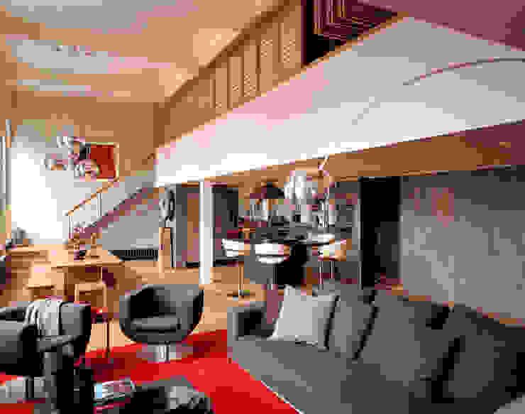 Islington Apartment - 1 Modern Living Room by Jonathan Clark Architects Modern