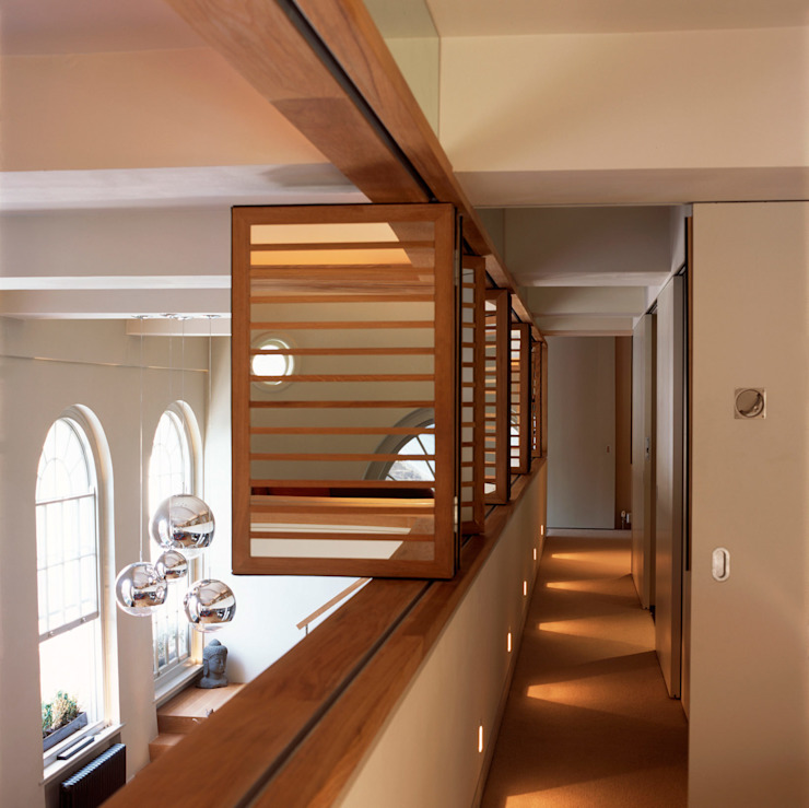 Islington Apartment - 4 Modern Corridor, Hallway and Staircase by Jonathan Clark Architects Modern