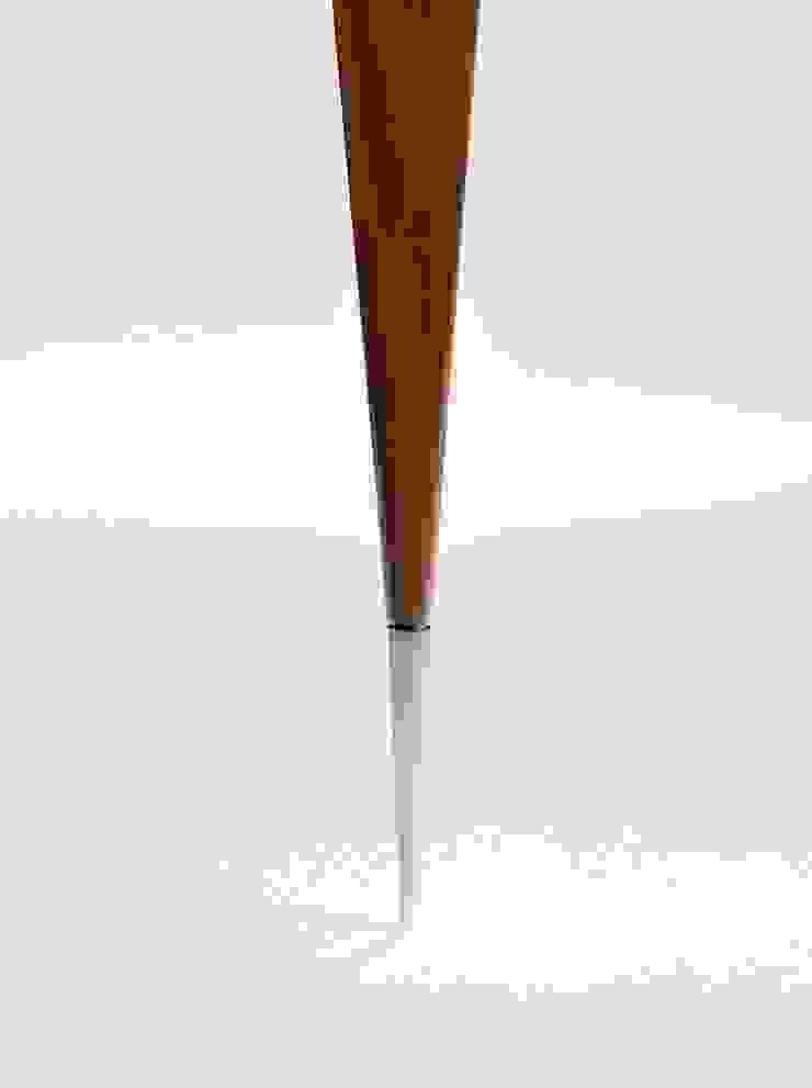 Detalhe ponteira aparador Cello Estudio Terpins por Maiora Design Furniture Moderno