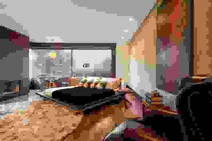 Elmor Arquitetura Modern style bedroom
