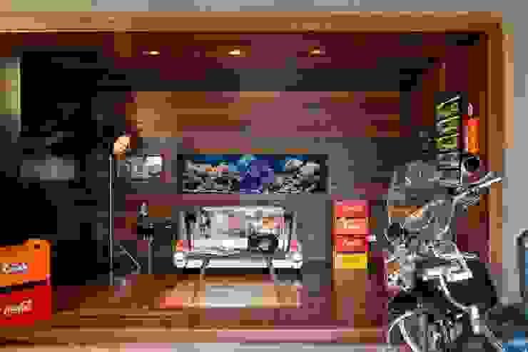 Projeto Casa Moderna - Jorge Elmor Salas de estar modernas por Elmor Arquitetura Moderno