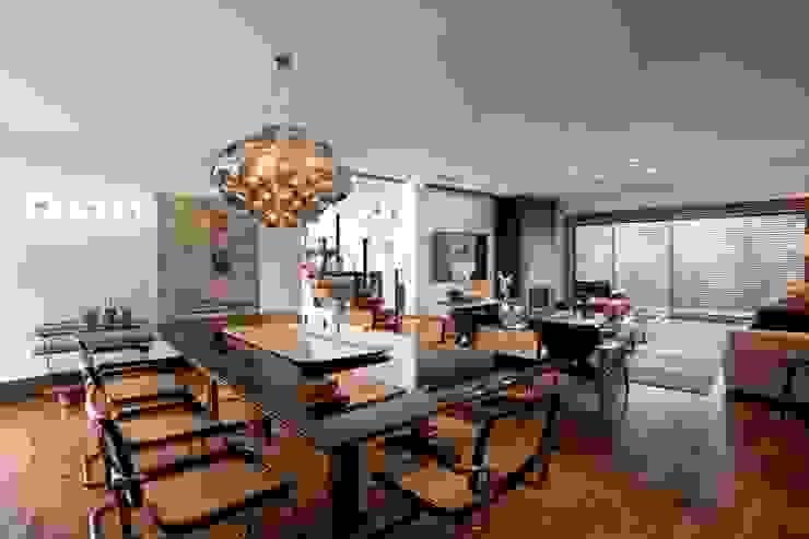 Elmor Arquitetura Modern dining room