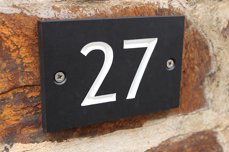 Eco House Numbers: classic  by ashortwalk, Classic