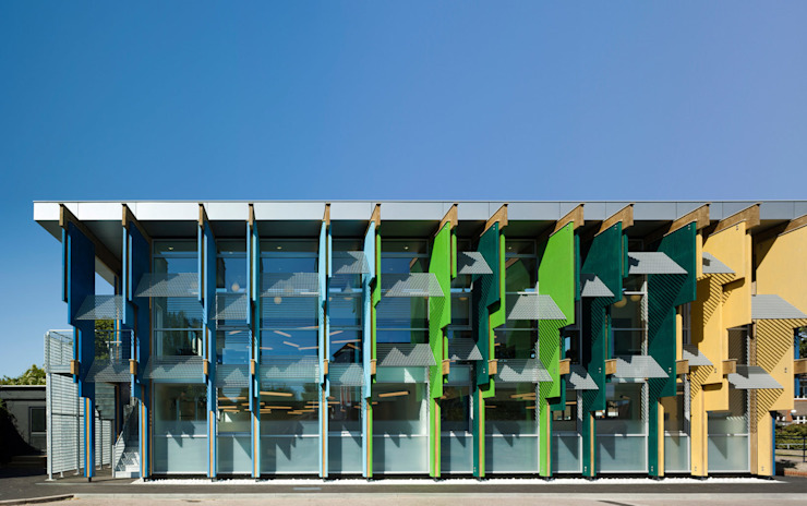 Longford Community School - New Library - 1 Modern schools by Jonathan Clark Architects Modern