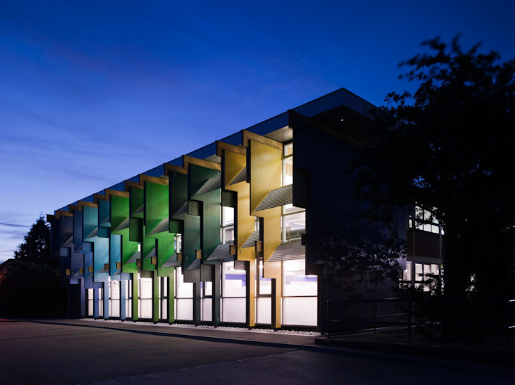 Longford Community School - New Library - 2 Modern schools by Jonathan Clark Architects Modern