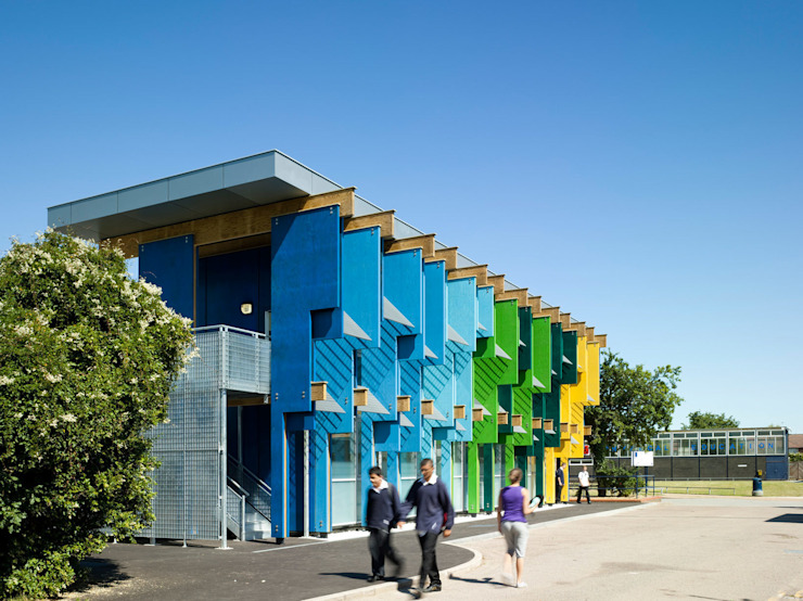 Longford Community School - New Library - 3 Modern schools by Jonathan Clark Architects Modern