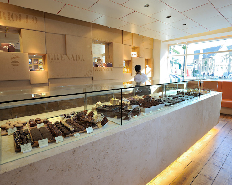 William Curley Modern gastronomy by Jonathan Clark Architects Modern