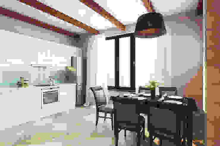 Оттенок Скандинавии Кухня в скандинавском стиле от Студия интерьера 'SENSE' Скандинавский