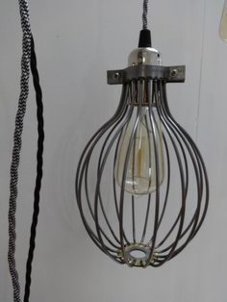 Metal Cage Light Shade Sugden and Daughters KitchenLighting