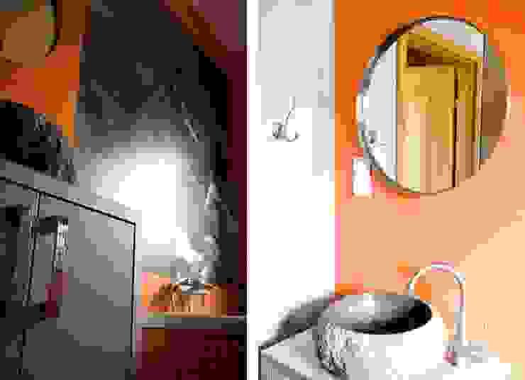COLoR of NyAsA Kolonialna łazienka od Cobo Design Kolonialny