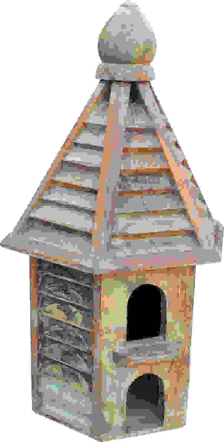 Holz-Vogelhaus Asiatischer Garten von Guru-Shop Asiatisch