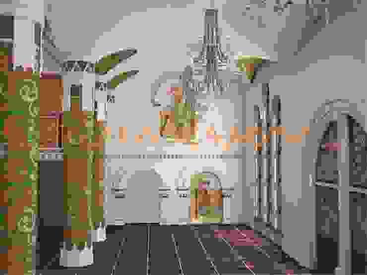 дизайн интерьера Бюро дизайна 'Только счастье...' Школы в эклектичном стиле