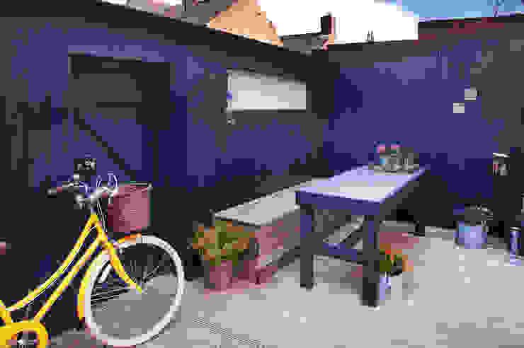 Exterior transformation Maisons modernes par Haus12 Interiors Moderne