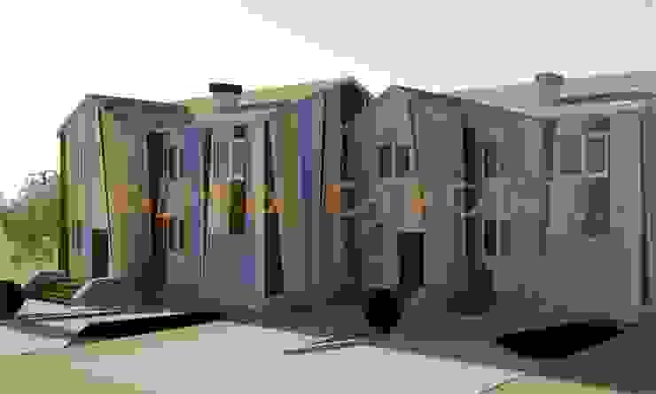 дизайн экстерьера Дома в эклектичном стиле от Бюро дизайна 'Только счастье...' Эклектичный