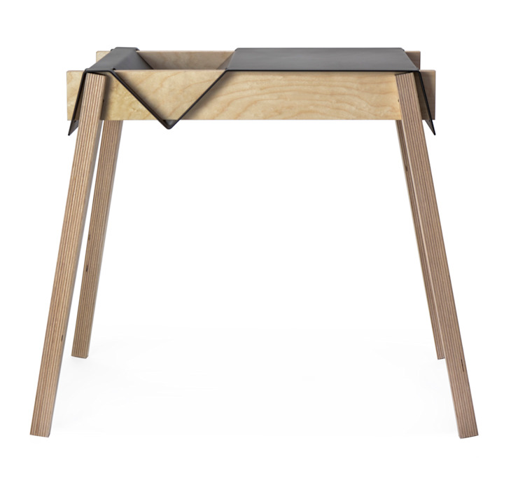 TSC Occasional Table: industrial  by Dan Marc, Industrial