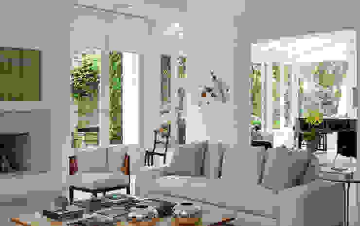 Livings de estilo moderno de CSDA Arquitetura e Interiores Moderno
