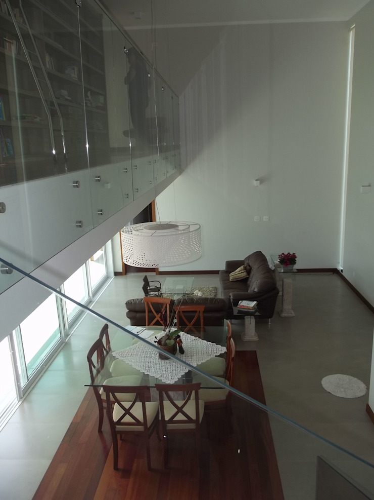 RESIDÊNCIA J&J Salas de estar modernas por Raquel Pelosi Arquitetura e Design Visual Moderno