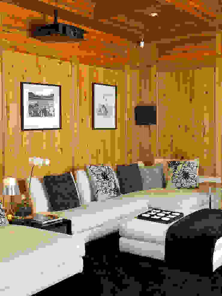Salas multimedia de estilo moderno de CSDA Arquitetura e Interiores Moderno