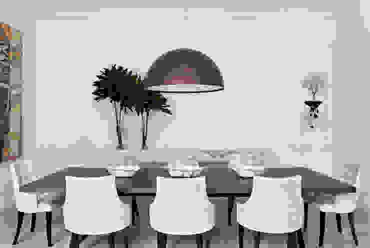 Dining room by CSDA Arquitetura e Interiores