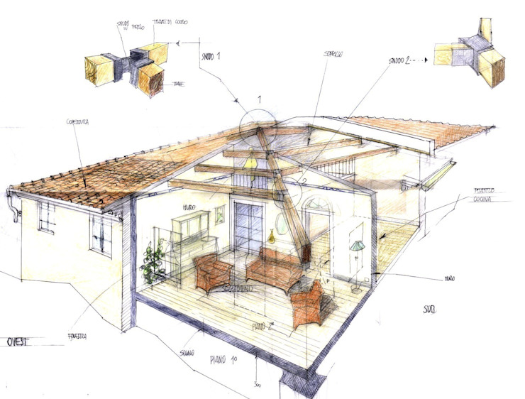 Studio Tecnico Fanucchi Вітальня