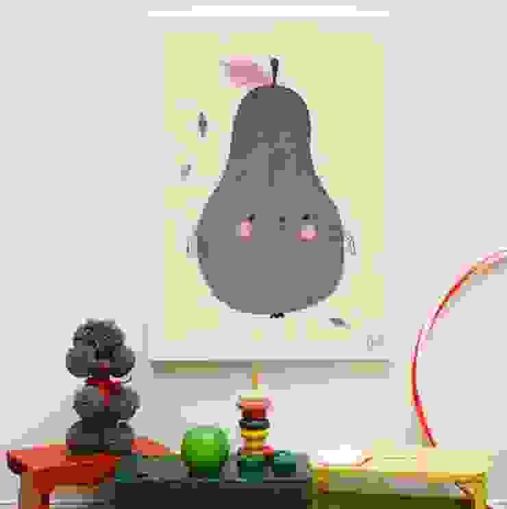 Fine Little Day Pirum Parum Poster: modern  by Lullabuy Limited, Modern