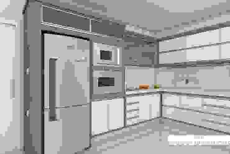 Cozinha Luxuosa Cozinhas modernas por A|R DESIGNER DE INTERIORES Moderno