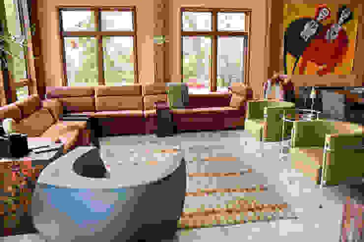 Traveling the World Eklektyczny salon od Cobo Design Eklektyczny