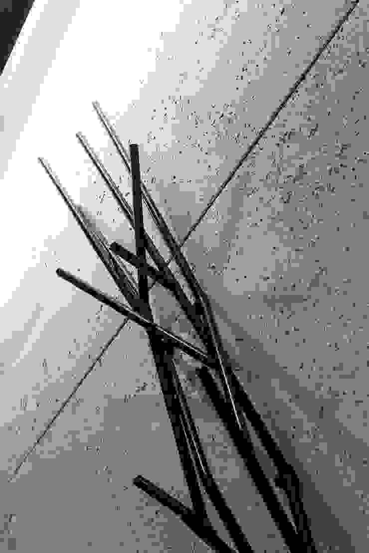Płyty betonowe Contractors Nowoczesny korytarz, przedpokój i schody od Contractors Nowoczesny