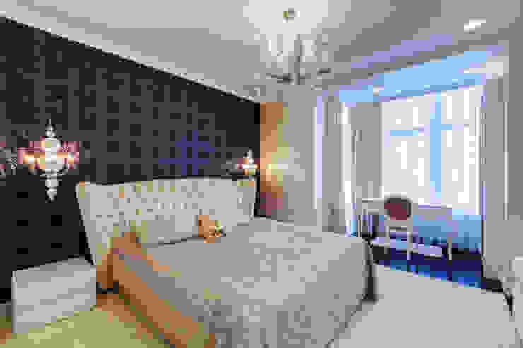 Klasyczna sypialnia od U-Style design studio Klasyczny