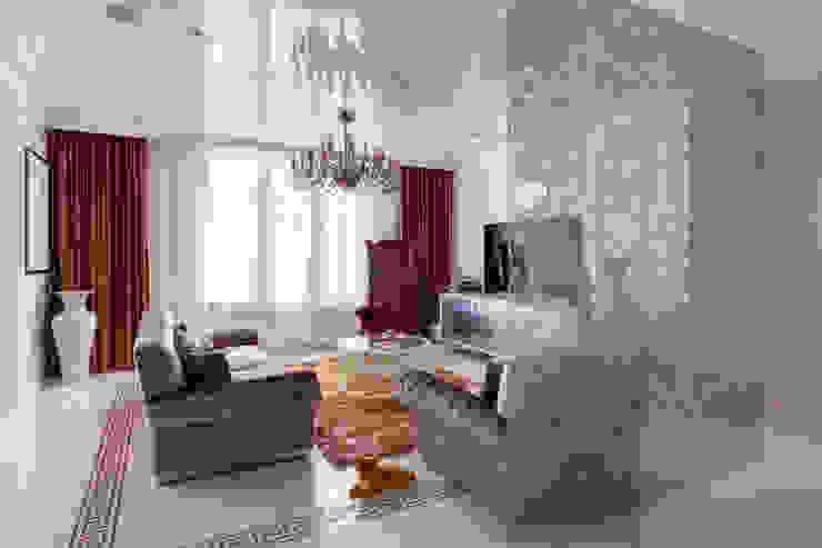 Квартира в Киеве Гостиная в классическом стиле от U-Style design studio Классический