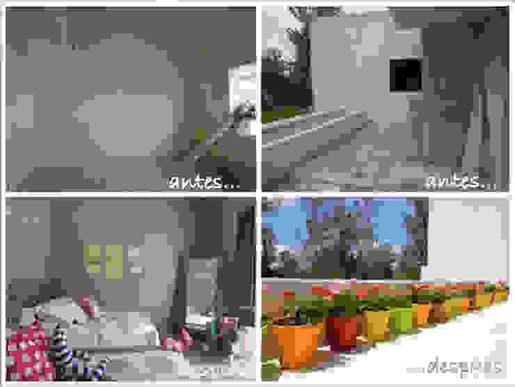 Recámara y balcón. Antes y después de MARIANGEL COGHLAN Moderno