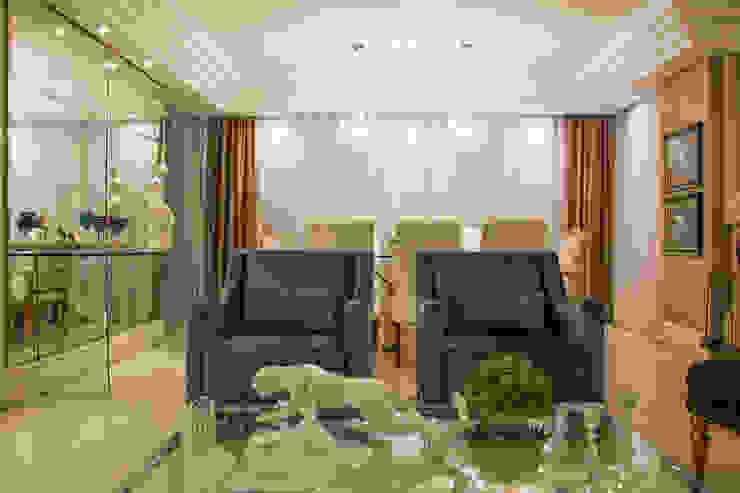 Salon classique par marli lima designer de interiores Classique