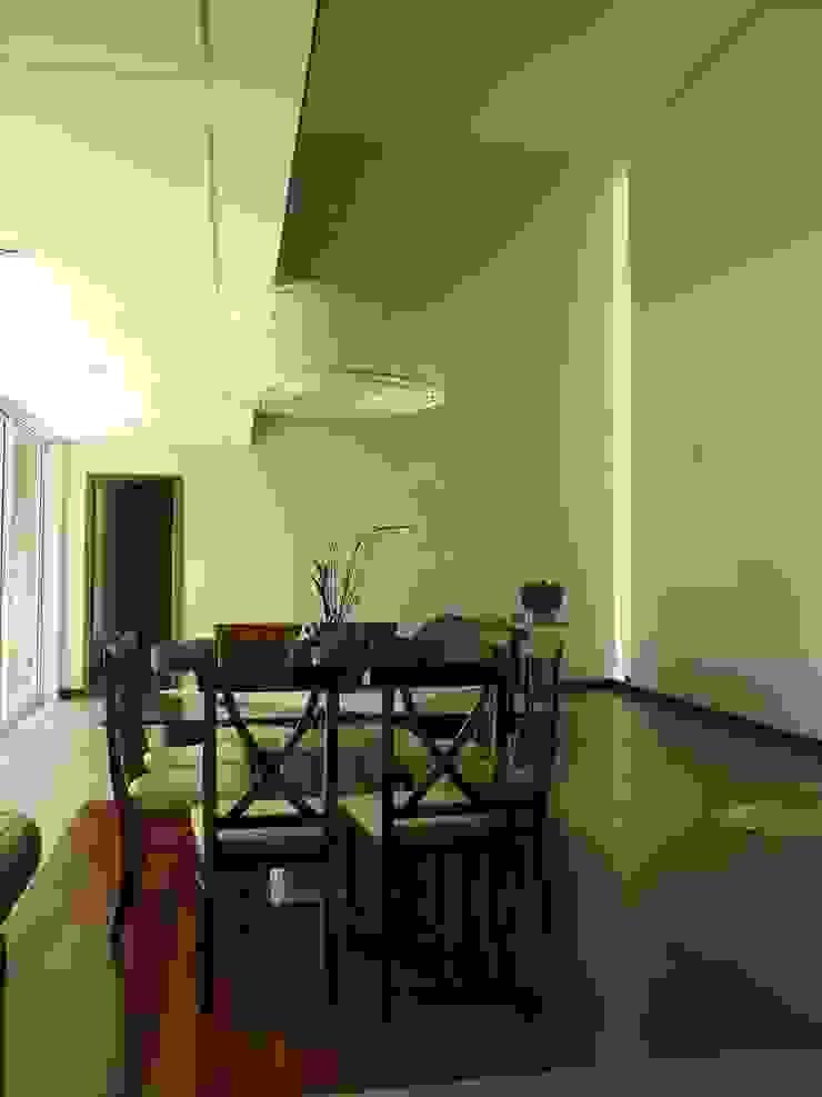 RESIDÊNCIA J&J Salas de jantar modernas por Raquel Pelosi Arquitetura e Design Visual Moderno