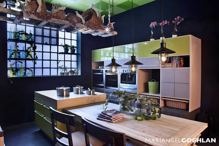Kitchen by MARIANGEL COGHLAN, Eclectic