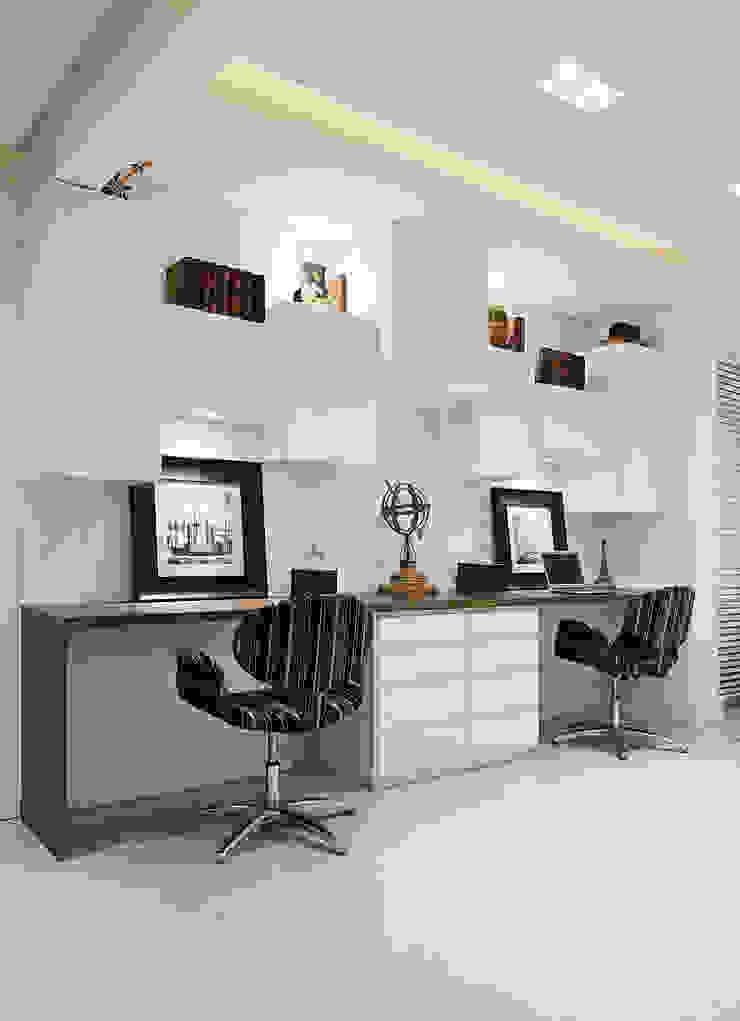 Modern study/office by marli lima designer de interiores Modern