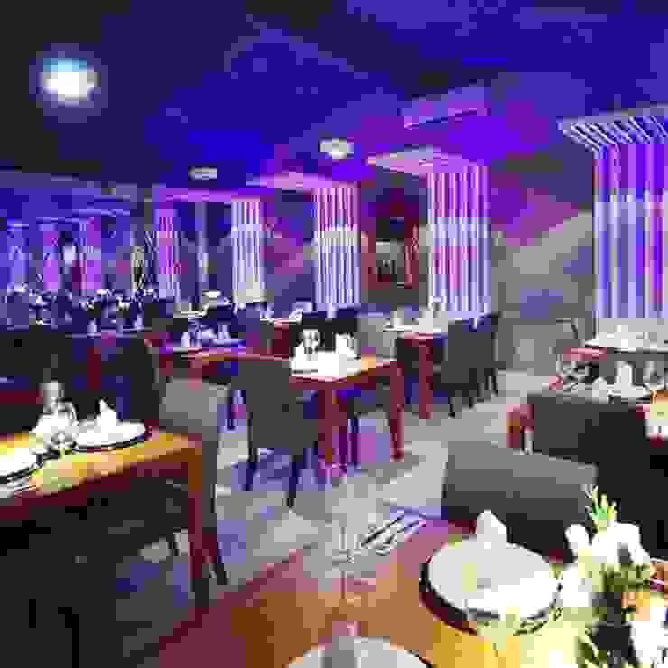 Restaurante Floriano Spiess Porto Alegre Espaços gastronômicos modernos por marli lima designer de interiores Moderno
