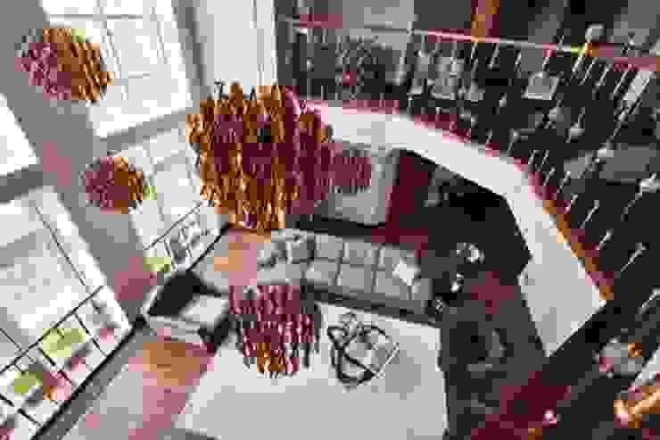 Янтарный дождь Гостиные в эклектичном стиле от D&A INTERIORS Эклектичный