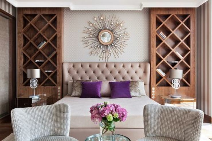 Eclectic style bedroom by D&A INTERIORS Eclectic