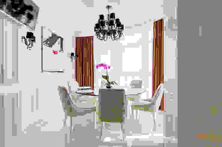 Квартира в Киеве Столовая комната в классическом стиле от U-Style design studio Классический