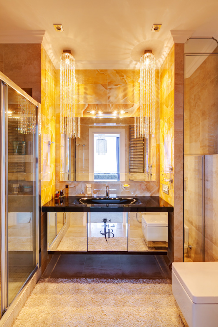 Квартира в Киеве Ванная в классическом стиле от U-Style design studio Классический