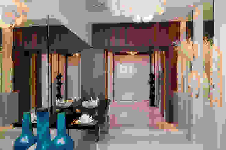 Moderner Flur, Diele & Treppenhaus von Infinity Spaces Modern