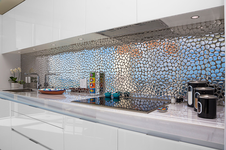 Dapur oleh Infinity Spaces, Modern